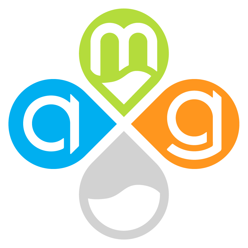 Analytics, Marketing, & Growth clover logo
